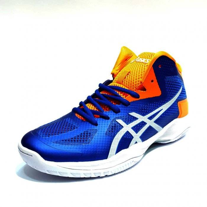 asics v swift ff blue orange white