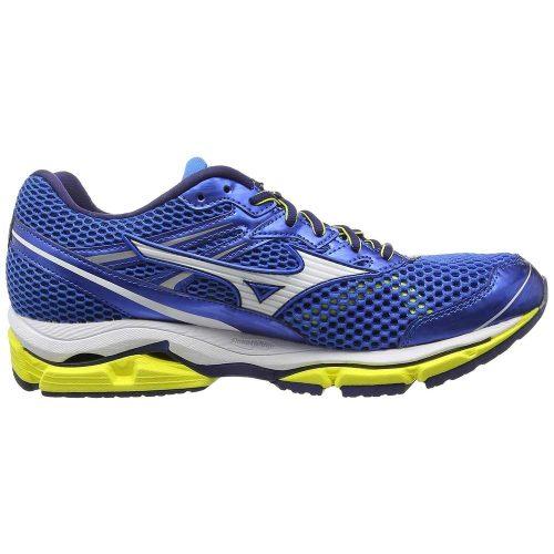 کفش پیاده روی میزانو wave enigma 5 آبی-زرد