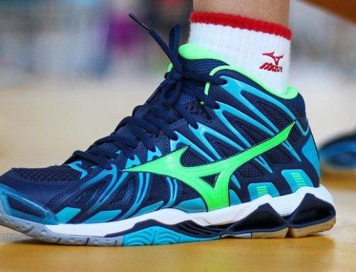 کفش مناسب والیبال