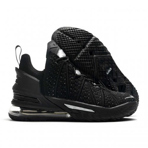 کفش بسکتبال لبرون 18 black