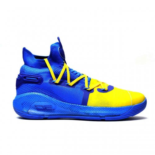 under armour curry 5 blue yellow